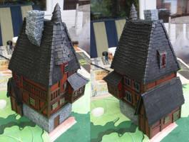 Warhammer building by dlshadowwolf