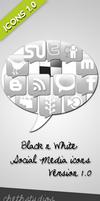 Black n white- Icon set