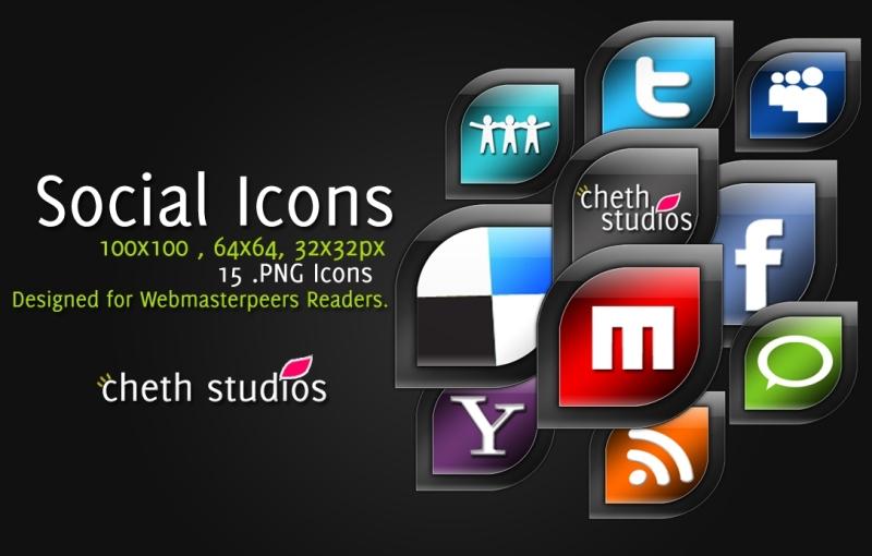 CS Social Icon pack