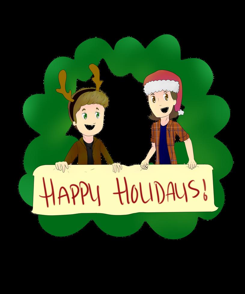 Supernatural Holiday by mikamikaluv