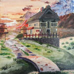 Sunset - Painting by ReadSapphirine