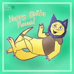 Raven's Birthday! by Mopruk