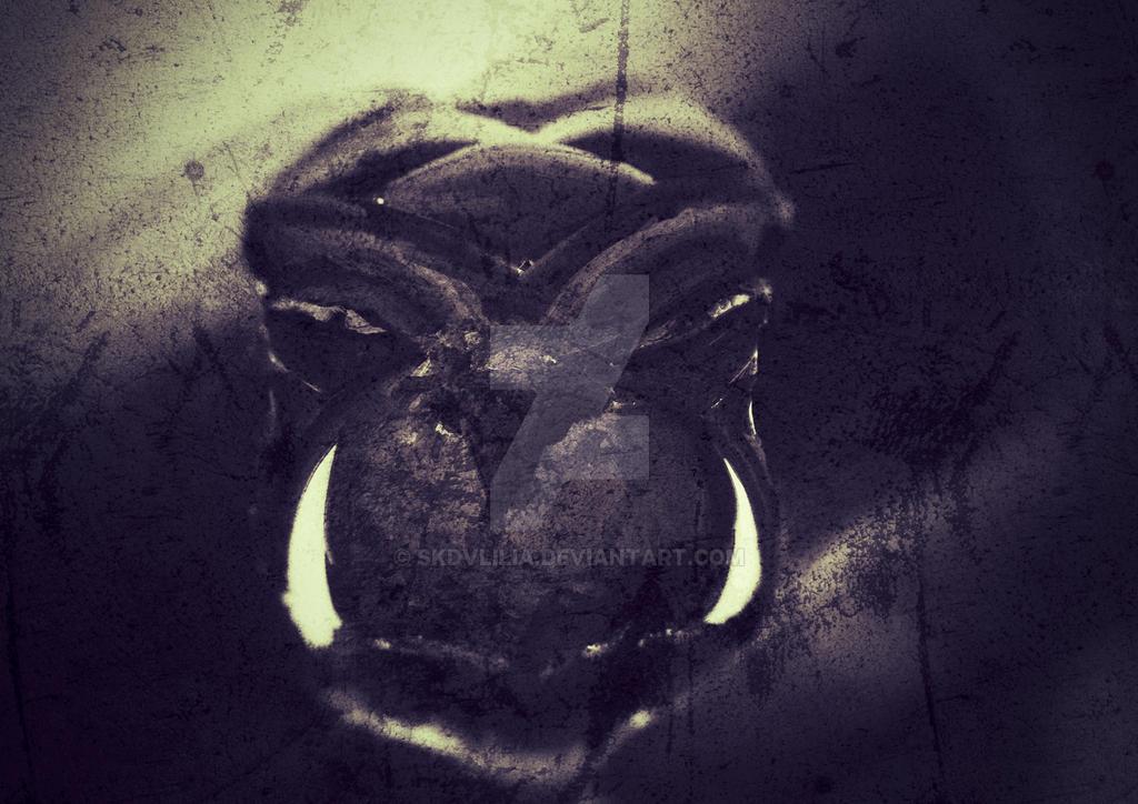 Krernl 1st beast form 4 #Choice (1st step sketch) by ErikaKern