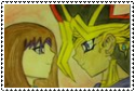 Forbiddenshipping stamp2 -Britt and Atem- by QueenBrittStalin