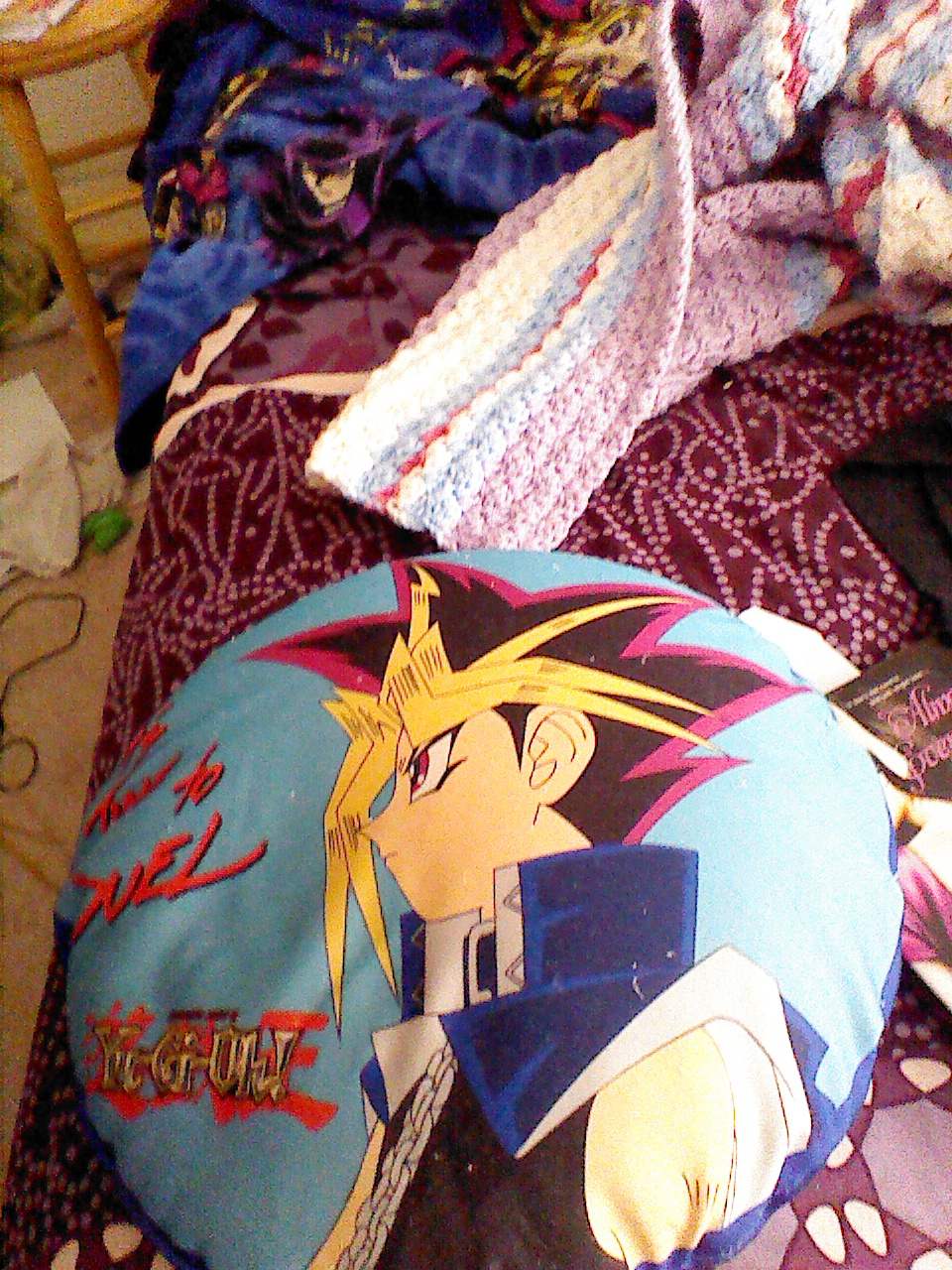 my ygo pillow by QueenBrittStalin