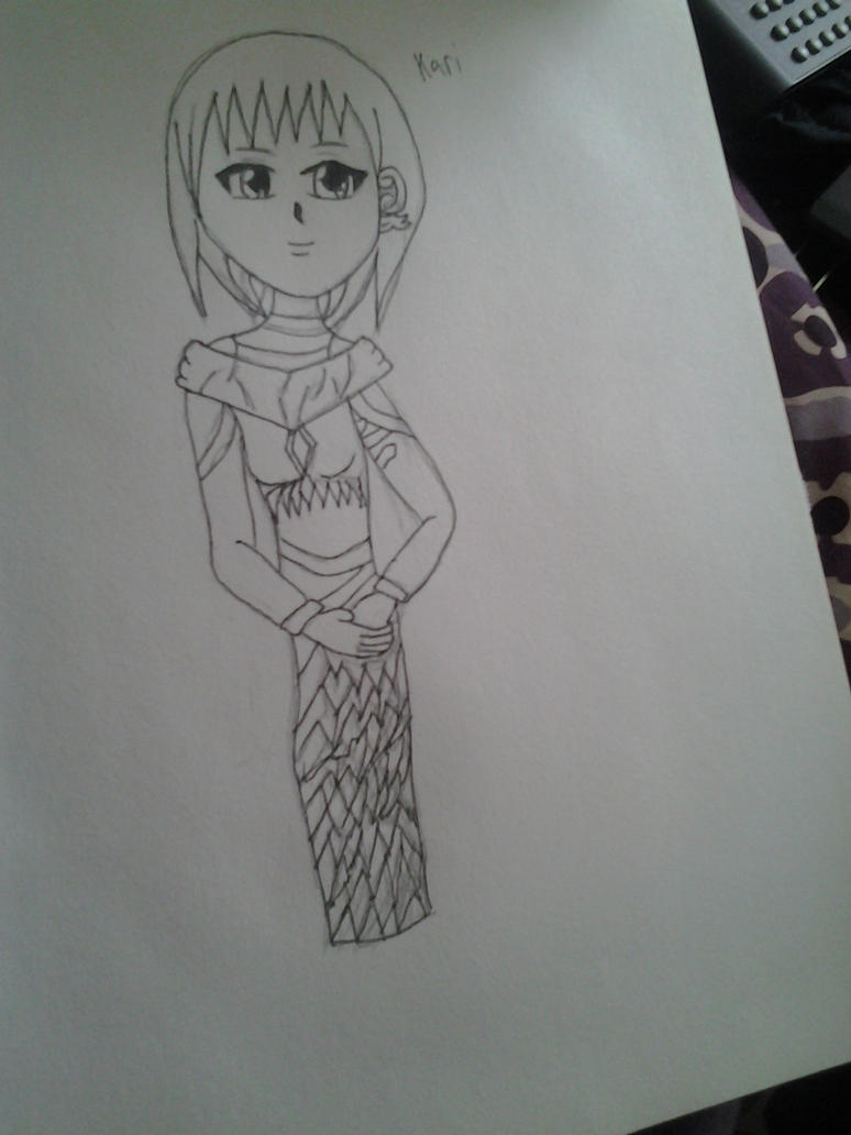kari sketch ink by QueenBrittStalin