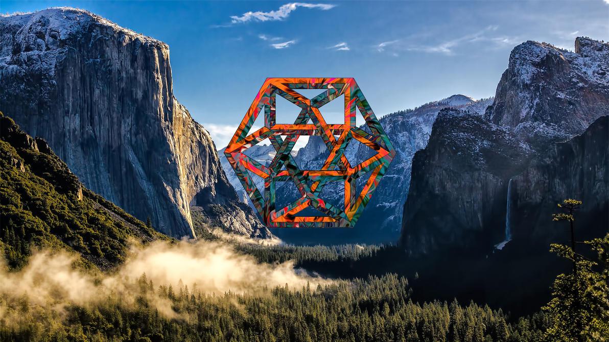 Minimalist Nature Desktop By SupernalBeing