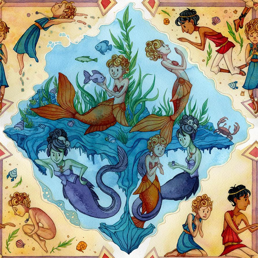 Little Mermaid: Sea by Razulude