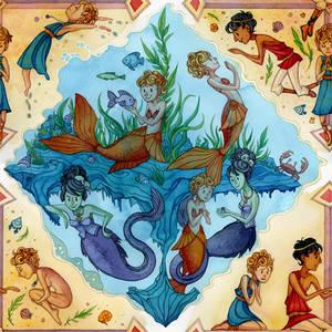 Little Mermaid: Sea