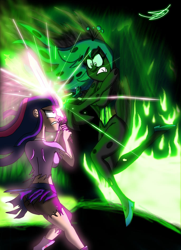 MLP Twilight Sparkle VS Queen Chrysalis By RingTeam On DeviantArt