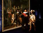 la ronde de  nuit. Rembrandt 1 by jackodeco