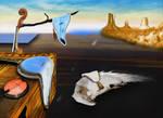 banjo Dali peinture  huile