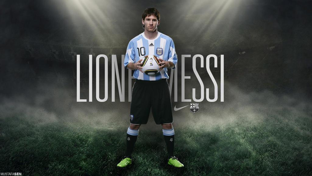 Leo Messi Wallpaper By Mustafasenn