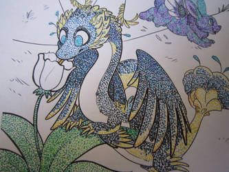 Sylestia Colouring Page detail by deina-chan