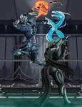 Dueling Swordmasters