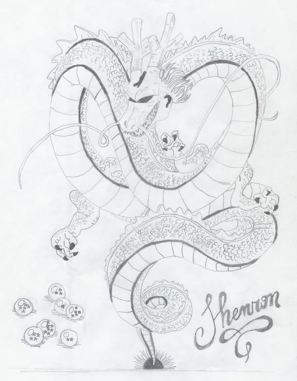 Shenron for Dragonball z by BlackThunderDragon on DeviantArt