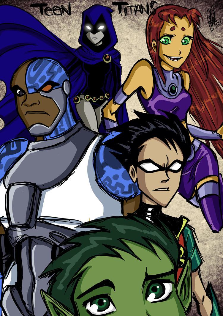 Deviant Art Teen Titans 93