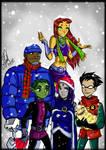 Titans Christmas by Gretlusky