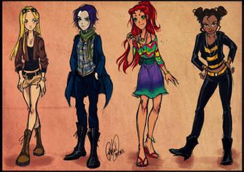 Titans fashion by Gretlusky