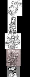 Teen Titans countdown by Gretlusky