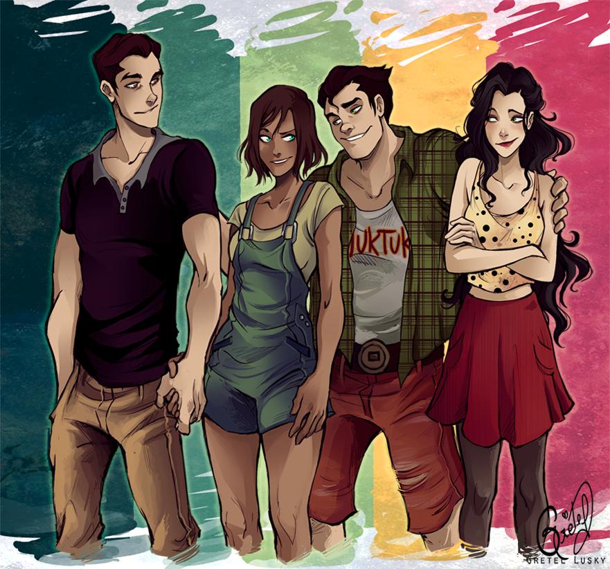 Modern Team Avatar by Gretlusky