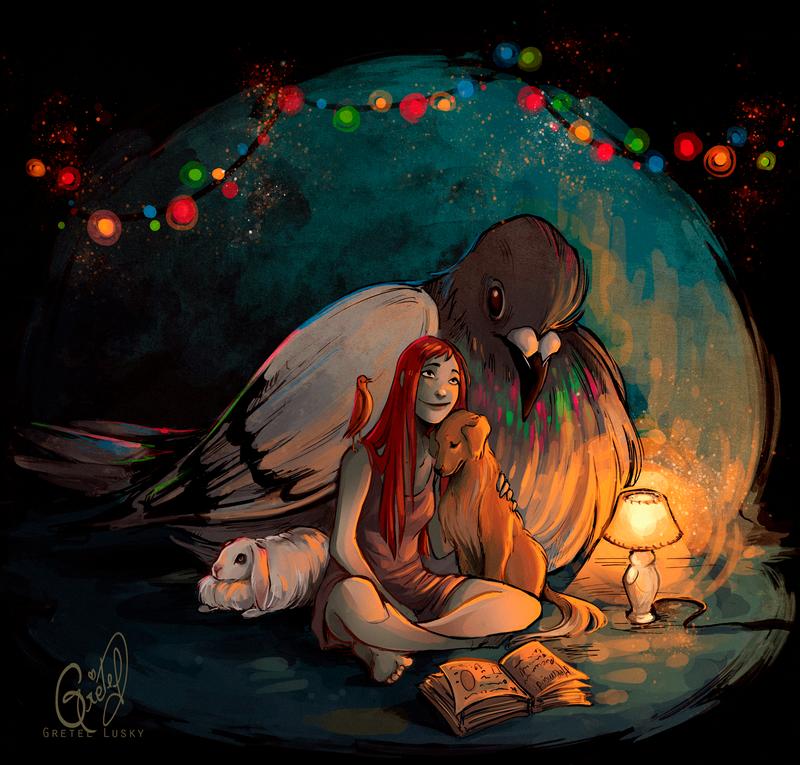 Story time by Gretlusky