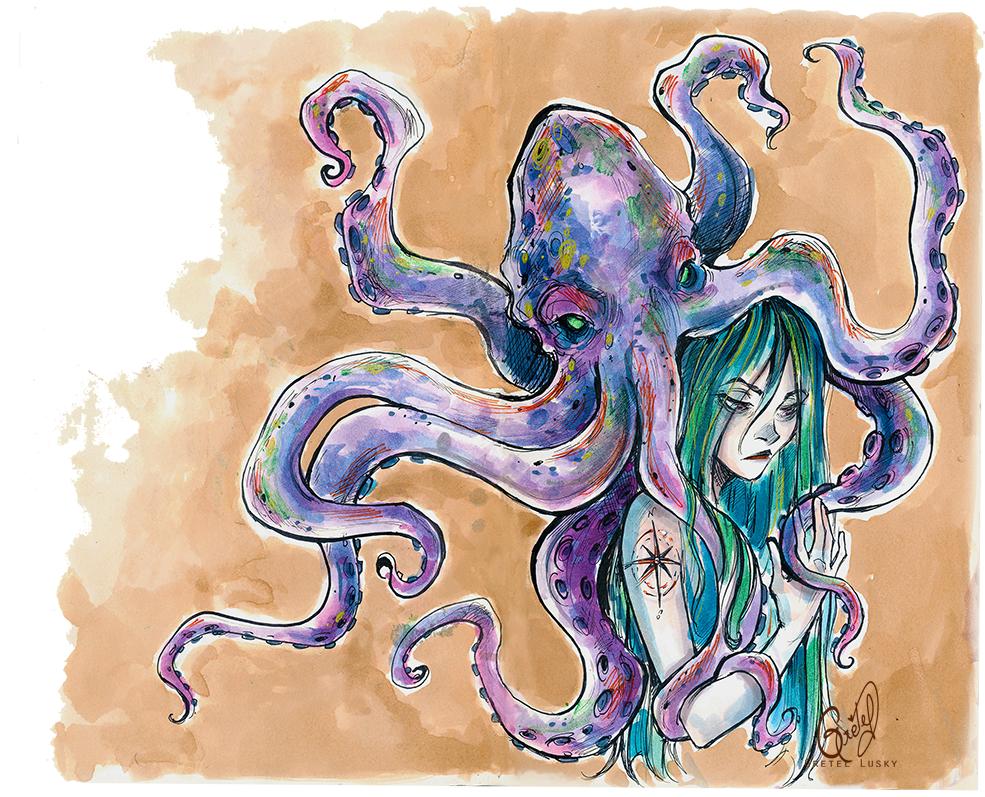 A monster by Gretlusky