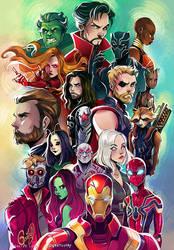 Avengers by Gretlusky