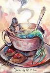 A cup of sea
