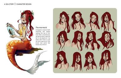 The mermaid by Gretlusky
