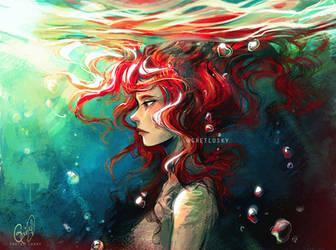 Salt water by Gretlusky