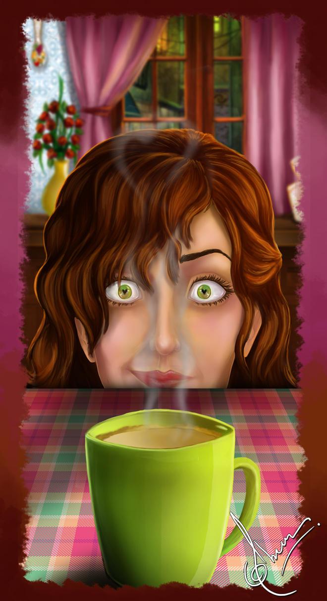 Coffee love by Abeer-Kasiri