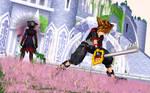 [MMD] Sora vs Vanitas