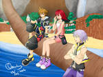 Kingdom Hearts Destiny Trio