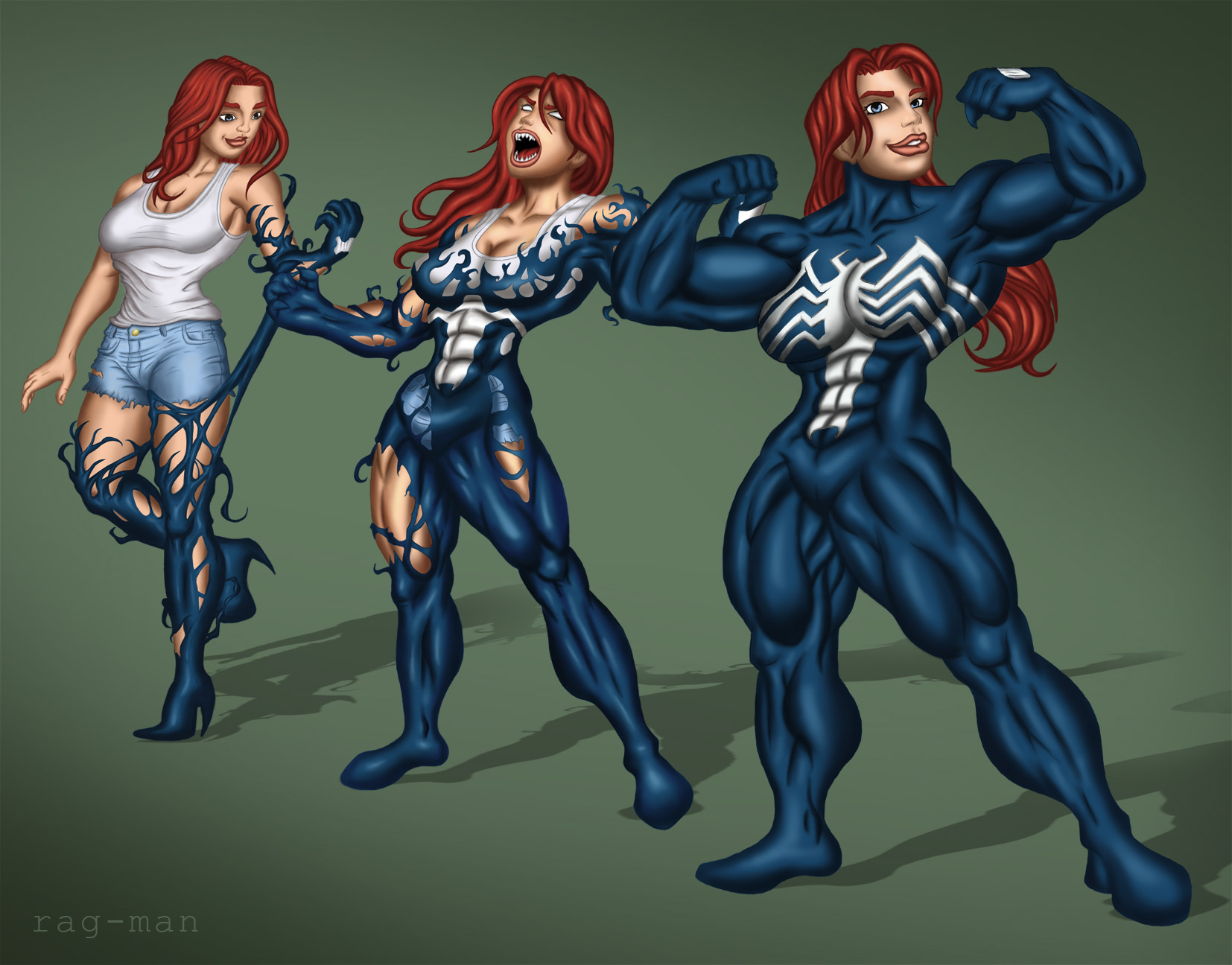 MJ Venom Transformation by rag-man by Cyberphoenix89 on ...