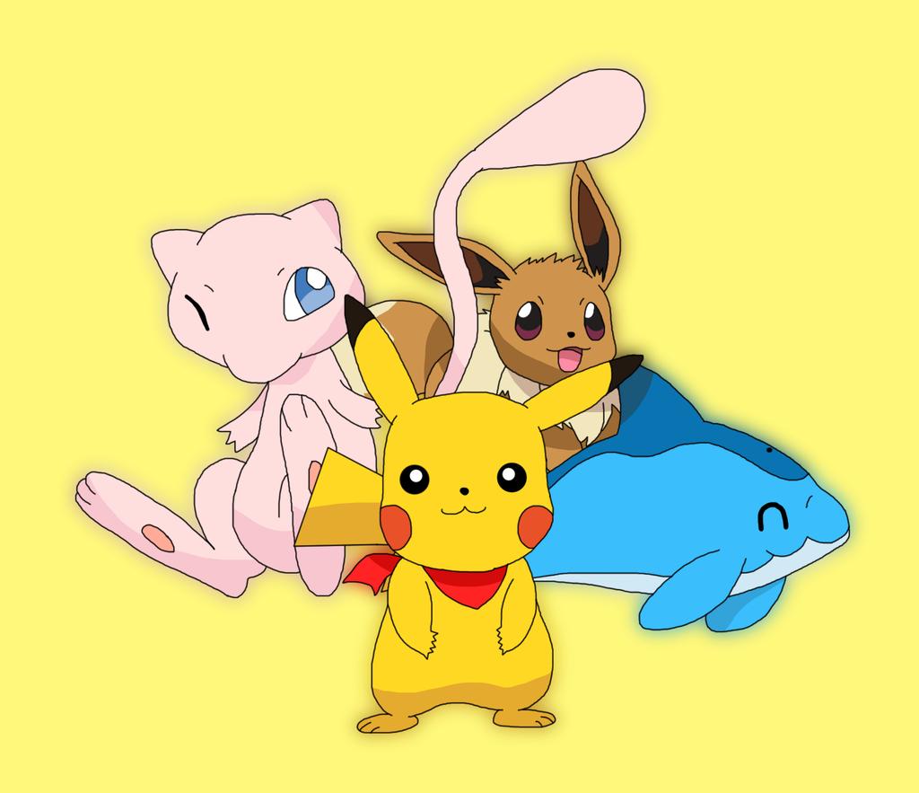 Pikachu Friends by Cansin13Art on DeviantArt