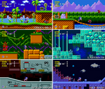 Sonic 1 GG Zones