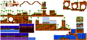 Green Hill Zone Sprites Mania