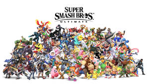 Cast of Super Smash Bros Ultimate