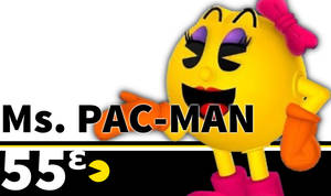 SSBU Ms PAC-MAN