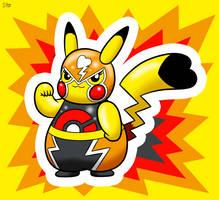 Simple Pikachu Libre