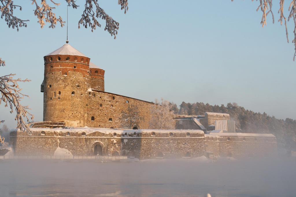 Olavinlinna castle 13, unrestricted stock by MariaLoikkii
