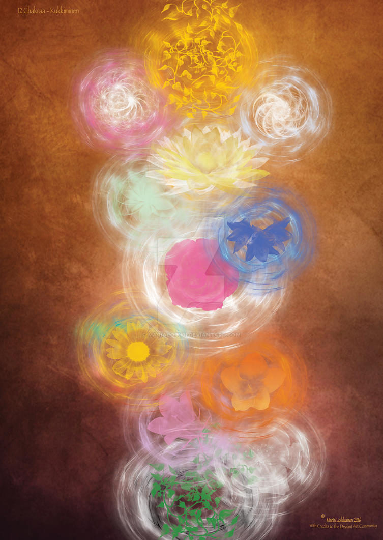 12 Chakras - flowering by MariaLoikkii on DeviantArt