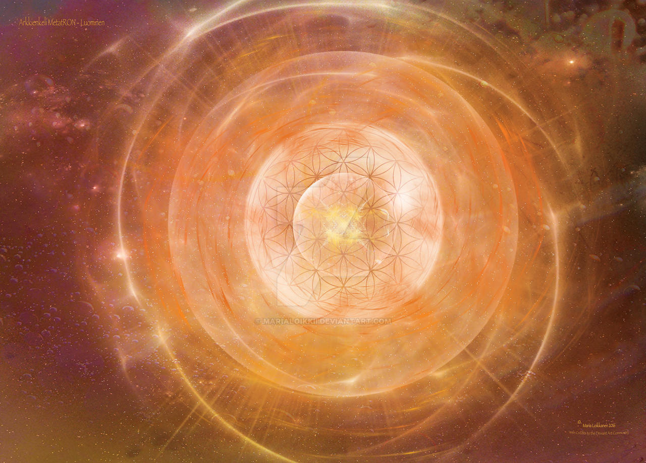 Archangel MetatRON - Creation by MariaLoikkii