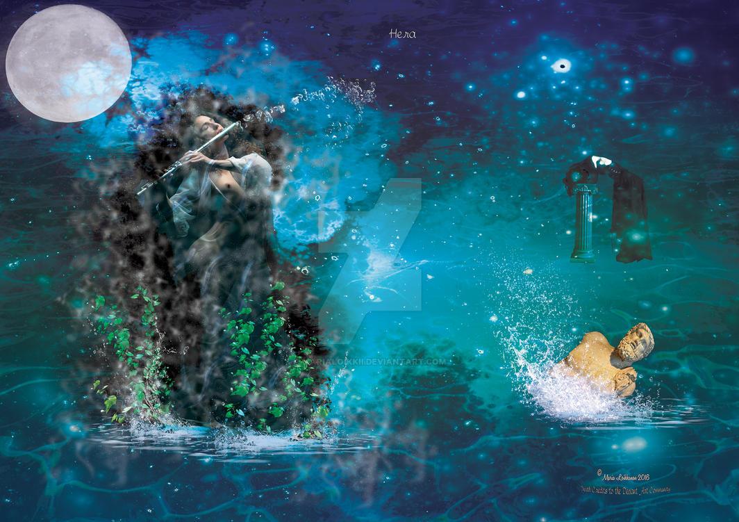 Mythologies - Hera by MariaLoikkii