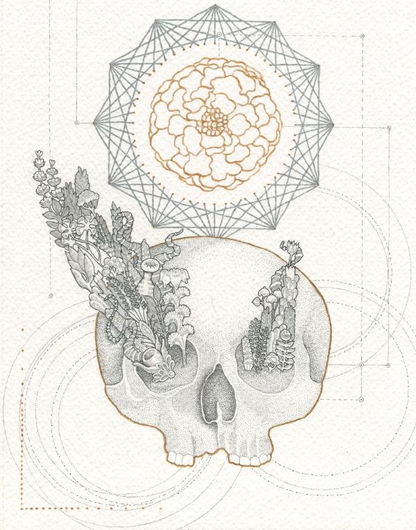 La flor de muerto by IngeVandormael