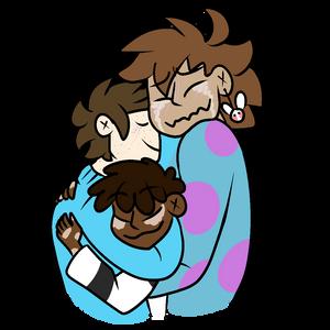 Trio Hugs