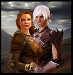 Kylenn Hawke and Fenris