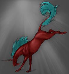 Coloring Practice - Unicorn
