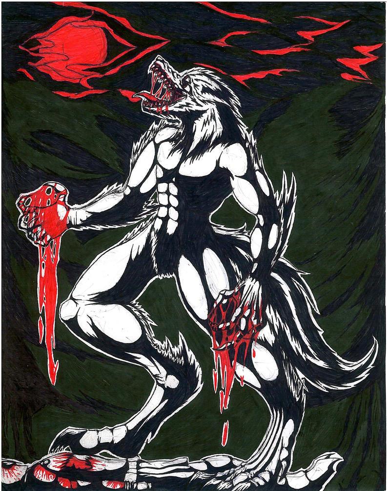 Deja Hellhound form by Corruptedcross